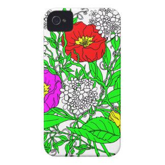 Wildflowers 2 iPhone 4 case