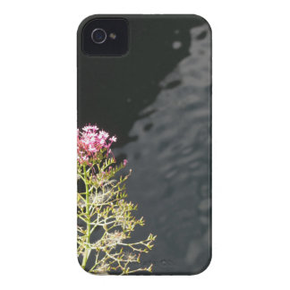 Wildflowers against the water surface of a river Case-Mate iPhone 4 cases