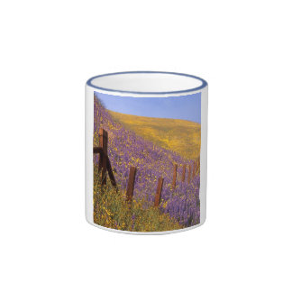 Wildflowers And Fence Post Mugs