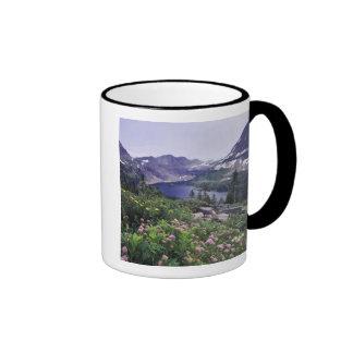 Wildflowers and Hidden Lake, Shrubby Coffee Mug