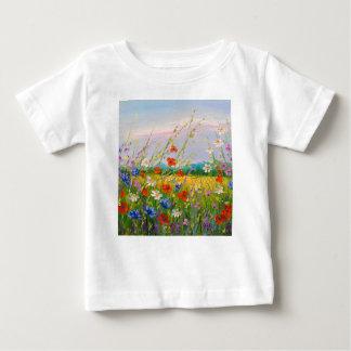 Wildflowers Baby T-Shirt