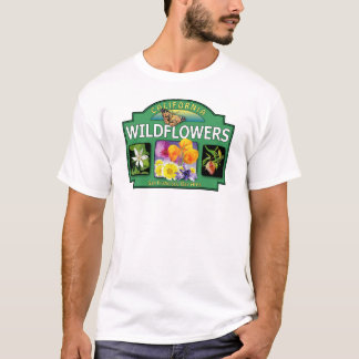 Wildflowers Bay Area T-shirt
