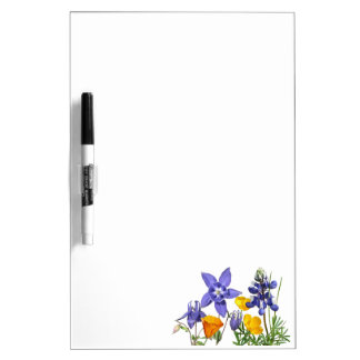 Wildflowers Dry-Erase Board