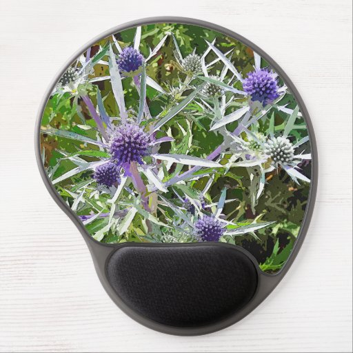 WILDFLOWERS GEL MOUSE MAT