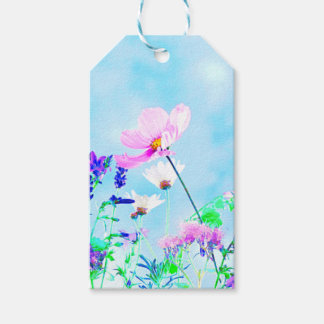 Wildflowers In Nature Gift Tags