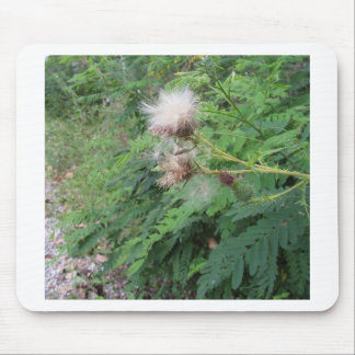 Wildflowers in the woods mouse pad
