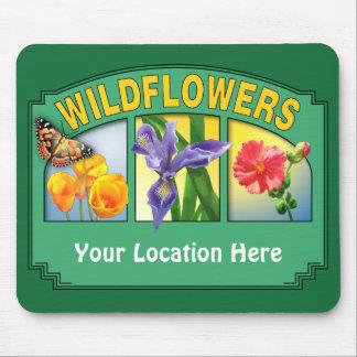 Wildflowers Mousepad 2 Customizable