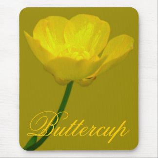 Wildflowers Mouspad  Buttercup Computer Gifts Mouse Pad