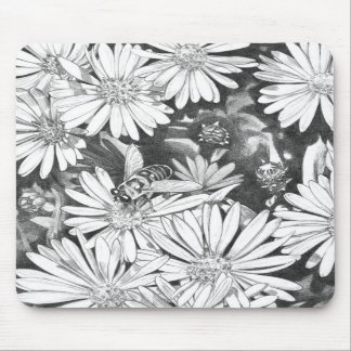 Wildflowers Mouspad  Flower Art Computer Decor Mousepads