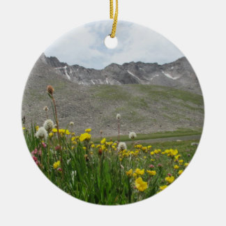 Wildflowers - Mt. Evans Ceramic Ornament