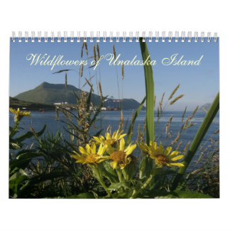 Wildflowers of Unalaska Island Wall Calendars