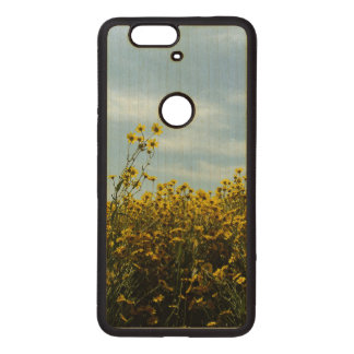 Wildflowers Sunflower Wood Nexus 6P Case