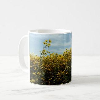 Wildflowers Sunflowers Coffee Mug
