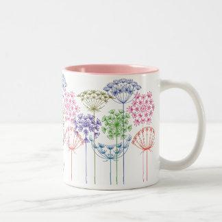Wildflowers White Mug