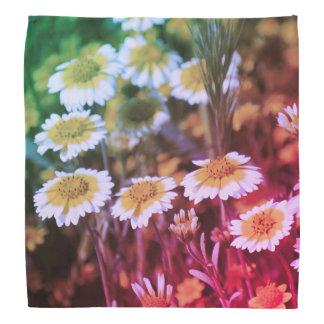 Wildflowers Yellow and White Sunflowers Bandana
