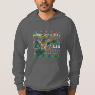 Wildlife Eagle Merry Christmas Ugly Sweater