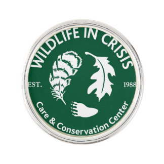 Wildlife in Crisis lapel pin