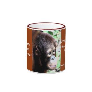 Wildlife Nature Conservation Ringer Mug