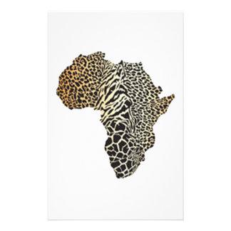 WILDLIFE OF AFRICA STATIONERY