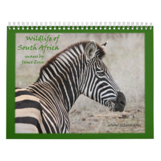 Wildlife of South Africa Calendar