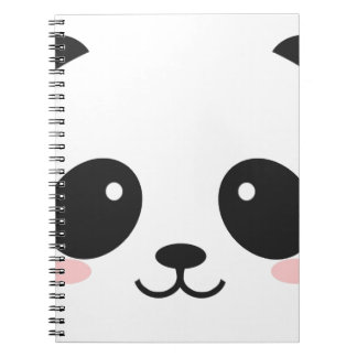 WILDLIFE PANDER FACE NOTEBOOK