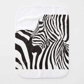 Wildlife Print, Zebra Burp Cloth