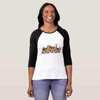 Wildlife shirt, raglan, antelope, pronghorn T-Shirt