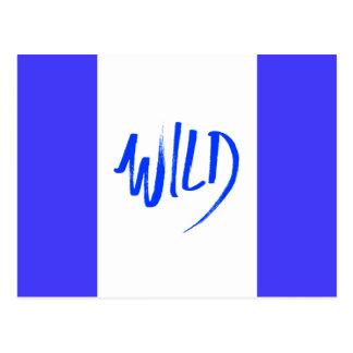 WILDSHOUTOUT ATTITUDE MOTTO FUN FREE PERSONALITY C POST CARD