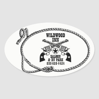 Wildwood Inn Logo Stickers