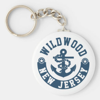 Wildwood New Jersey Key Ring