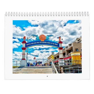 Wildwood New Jersey Photo Calendar