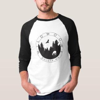 Wildwoods Logo Mens' 3/4 Sleeve T T-shirts