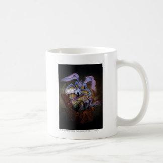 Wile E Coyote A Loony in the Box Basic White Mug