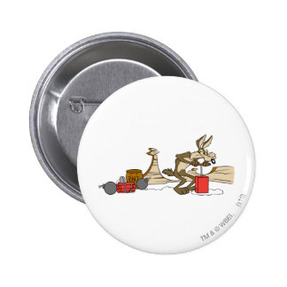 Wile E Coyote Acme Products 11 2 6 Cm Round Badge