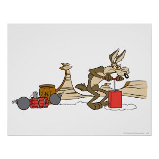 Wile E Coyote Acme Products 11 2 Poster