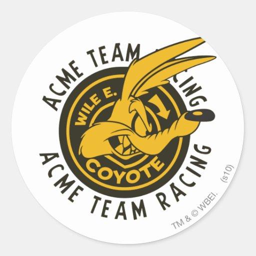Wile E. Coyote Acme Racing Sticker