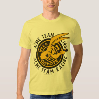Wile E. Coyote Acme Team Racing Tshirt