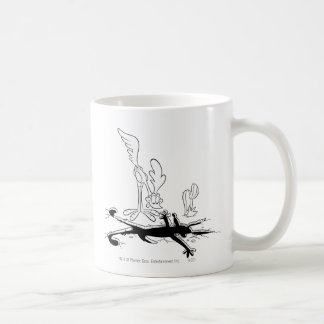 Wile E Coyote and ROAD RUNNER™ Acme Products 3 Coffee Mug