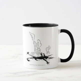 Wile E Coyote and ROAD RUNNER™ Acme Products 3 Mug