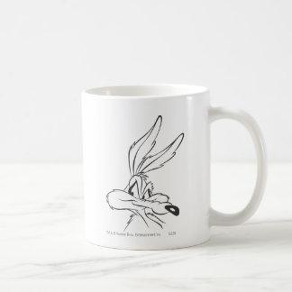 Wile E Coyote Expressive 7 Basic White Mug
