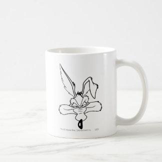 Wile E. Coyote Happy Head Shot Coffee Mugs