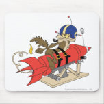 Wile E. Coyote Launching Red Rocket Mousepads