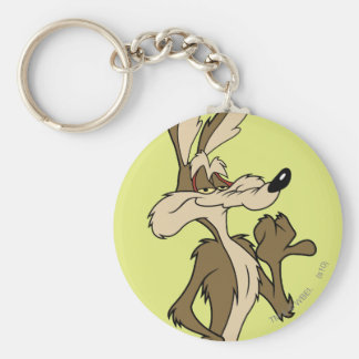 Wile E Coyote Looking Proud Key Chains