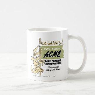 Wile E. Coyote Rope Climbing Championships Coffee Mug