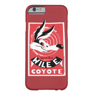Wile Warner Bros. Presents poster Barely There iPhone 6 Case