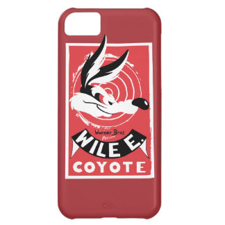 Wile Warner Bros. Presents poster iPhone 5C Case