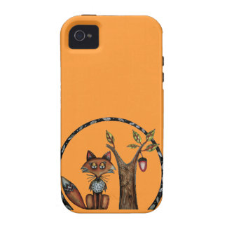Wiley is a fox iPhone 4/4S case