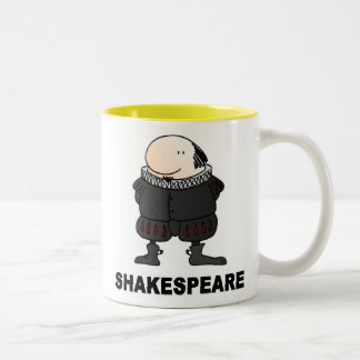 Wilf Shakespeare Two-Tone Coffee Mug