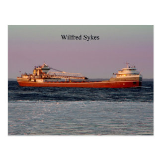 Wilfred Sykes postcard