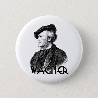Wilhelm Richard Wagner 6 Cm Round Badge